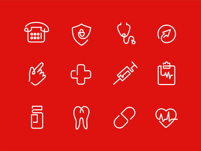 Branding Design for Lane Health posters telemedicine oneline illustration icon graphic design medical service medical branding lineart healthcare animation