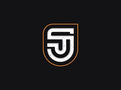 SJ symbol identity brand j s typography lettering mark monogram logo
