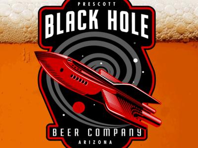 Black Hole Beer Company Logo
