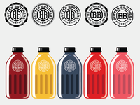 Drinkable Yogurt Bottles