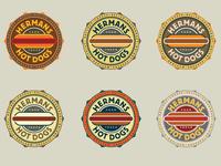 Hermans Hotdogs Colors