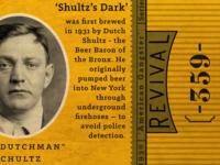 Revival Beer  Shultz