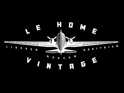 Le home vintage plane