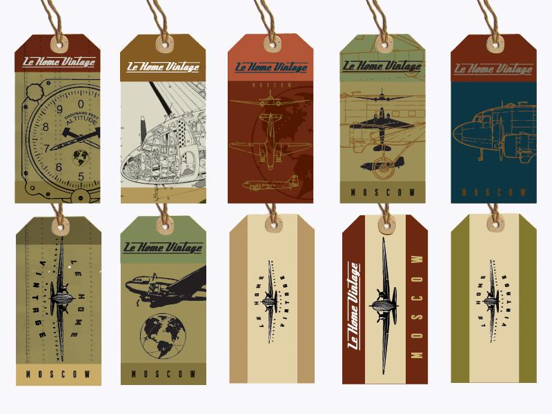 Lehome Vintage Tags