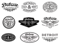 Detroit Ham And Corned Beef Co Logos