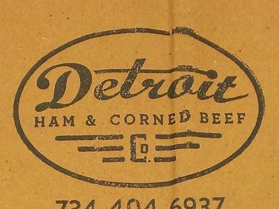 Detroit Ham And Corned Beef Bag