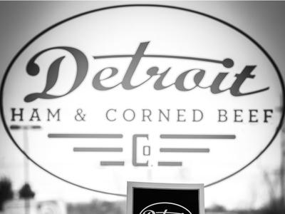 Detroit Ham And Corned Beef Co. Window