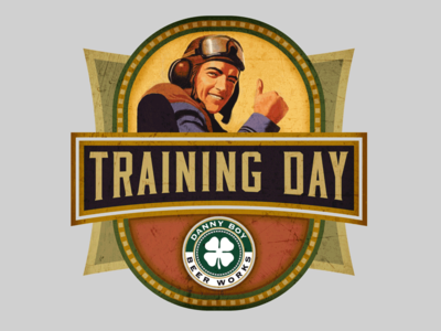 Training Day Beer Label