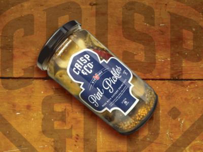 Pint Pickles  Crisp   Co