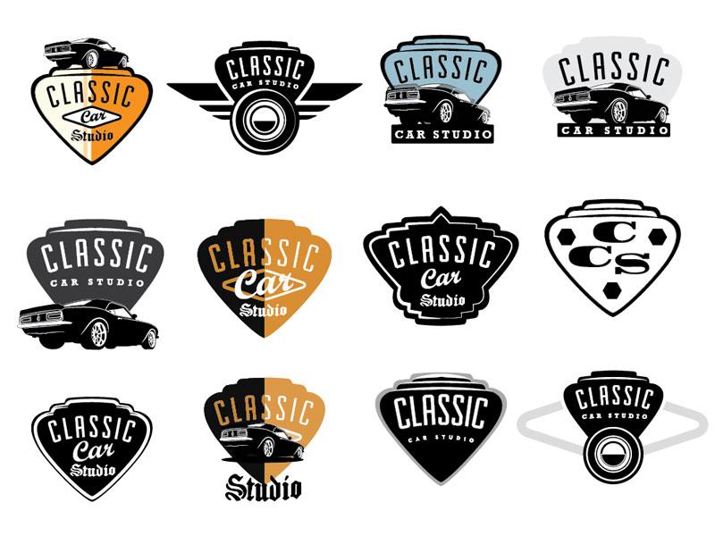 Classic Car Studio by David Cran - Dribbble