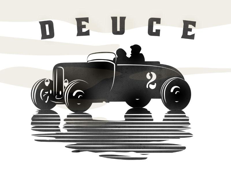 Deuce Roadhouse tavern roadhouse bar restaurant cafe automobile vintage car two
