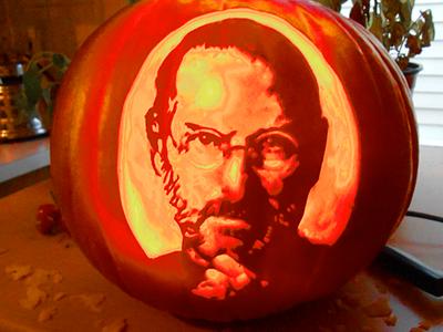 Steve Jobs Jackolantern