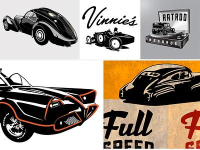 Misc Cars By Cran motorcycle hotrod ratrod bugatti atlantic batman truck vintage car