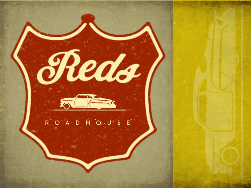 Reds Roadhouse motorcycle lowrider car vintage bakery restaurant cafe bar roadhouse socal