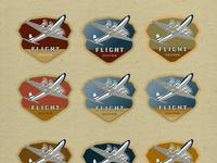 Flight center colors