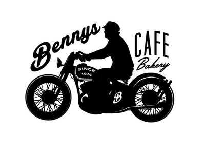Bennys Cafe bar restaurant classic vintage motorcycle bakery cafe