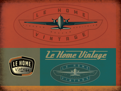 Le Home Vintage Moscow aviation furniture retro aircraft vintage dc3