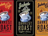 Jakes Coffee Packaging