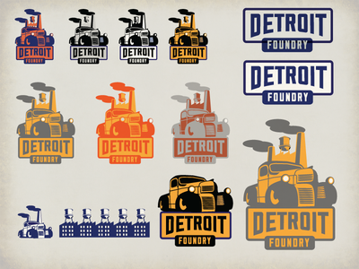 Detroit Foundry Worksheet 2 smoke stacks retro cars detroit line clothing vintage cars