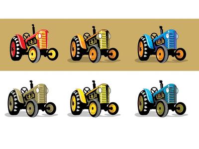 Tractors 34 farmer farm vintage tractor