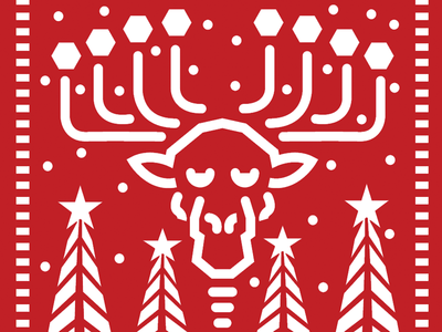 Moose 4 minora candles moose christmas xmas