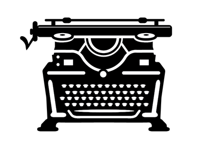 Typewriter 6 retro vintage typewriter keyboard
