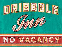Dribbble Inn Sign 1