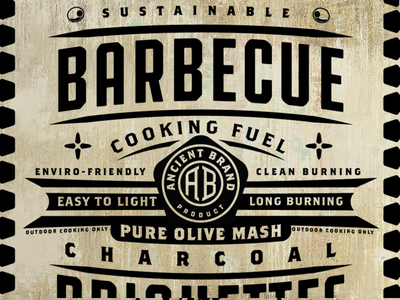 Barbecue Charcoal 4 charcoal. fuel retro vintage barbecue