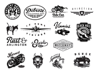 Assorted Logos By David Cran 37d