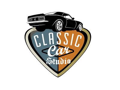 Classic Car Studio american classic vintage car camaro