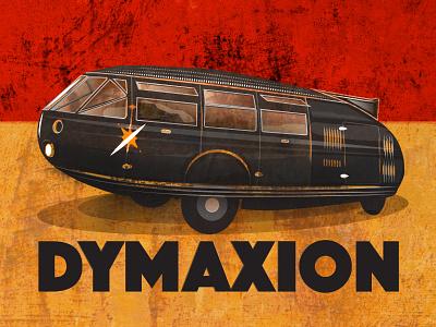 Dymaxion transport vintage car futurist dymaxion buckminster fuller