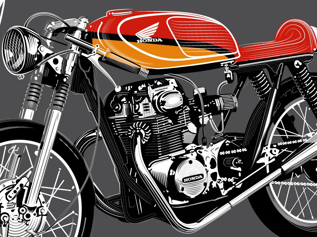 Cafe Racer 4 bike racer cafe honda motorcycle