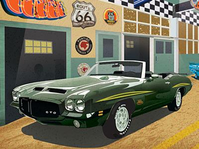 Pontiac gto fantasy garage