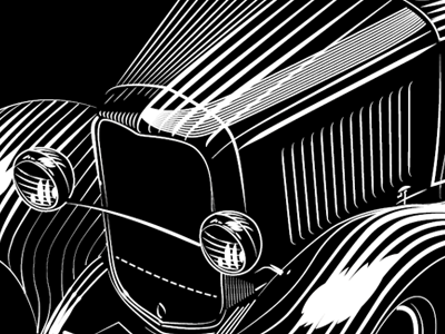 1932 ford in lines