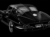 1963 corvette stingray lg