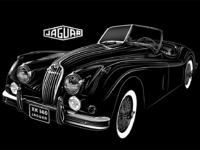 Jaguar xk 140 lg