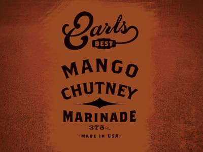 Earls Best Mango Chutney