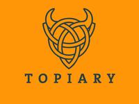 Topiary Bull Logo