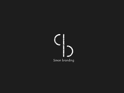 Simon Branding Logo sb brand identity logo