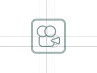 Camera Logo Grid