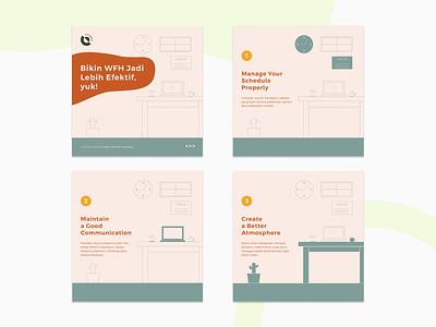 Instagram Post Design #2 instagram social media typography branding illustration layout graphic design design