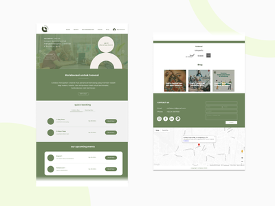Website Redesign #1 typography layout web design branding ui
