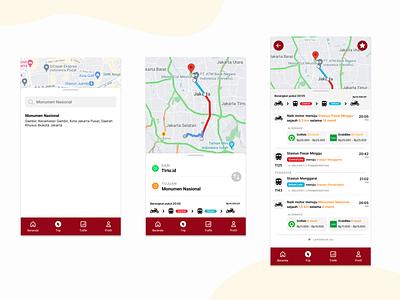 KRL Access Redesign #1 public service transportation application product design ux research ux design ui