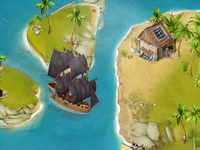 Pirates' islands