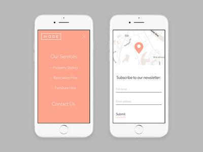 Mode Hire Mobile Design