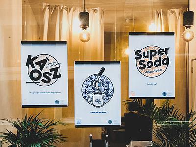 COMPANIES LOGO INSTALLATION - AMSTERDAM shop branding logo installation prints posters amsterdam