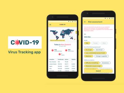 Covid 19 Virus tracking app