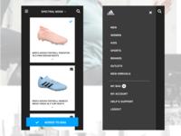 Adidas - Uplabs challenge
