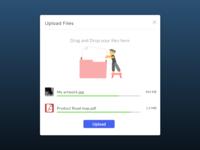 DailyUI #031 - File Upload