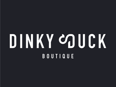 Dinky Duck duck logo icon animal duck branding adobe vector graphics vibrant colours ux ui typography logo illustrator uiux graphic design illustration graphic design